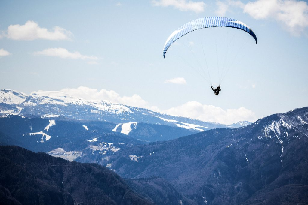 paragliding, photo of the week, Art of Adventure, mountains