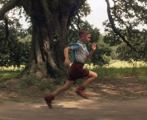 Be careful of being too pleased with yourself  When your dreams are    Forrest Gump Running Kid